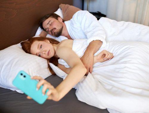 pas de smartphone pour faire l'amour